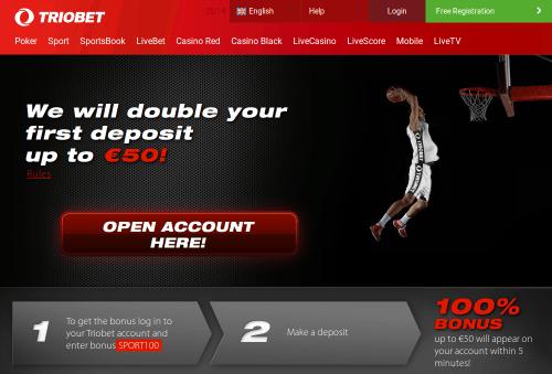 Triobet Website